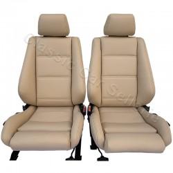 ensemble garnitures complets cuir beige bmw cabriolet 320I serie E30