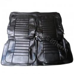 ensemble garnitures sièges complets simili noir renaulr 5 TL phase1 /1972/79