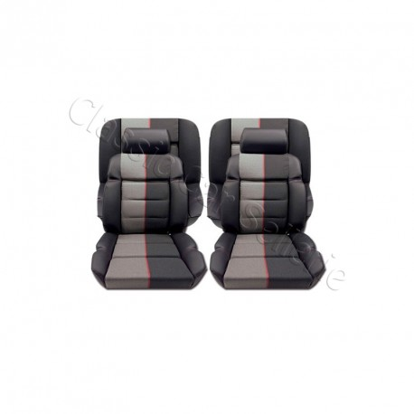 ensemble garnitures de si ges cuir ramier peugeot 205 gti. Black Bedroom Furniture Sets. Home Design Ideas