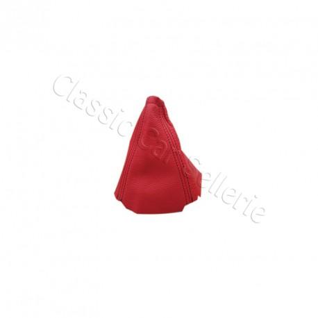 Soufflet levier de vitesse rouge peugeot 205 classic car for Housse levier de vitesse