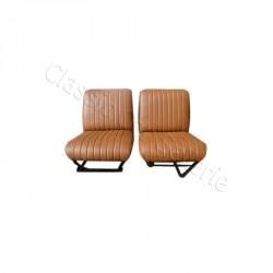 ensemble 2 garnitures de sièges avant marron HY 3eme modèle