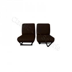 ensemble 2 garnitures de sièges avant noir Citroën HY 3eme modele
