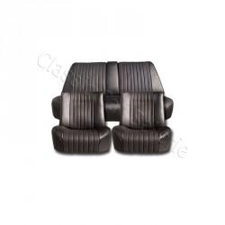 Ensemble garnitures de sièges complet targa noir Citroen DS
