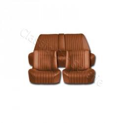 Ensemble garnitures de sièges complet targa marron citroen ds