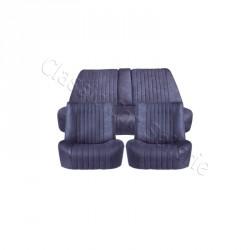 Ensemble garnitures de sièges complet velours bleu Citroën ds