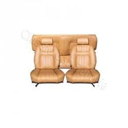 Ensemble garnitures de sièges complet simili sahara pour Peugeot 504 coupé
