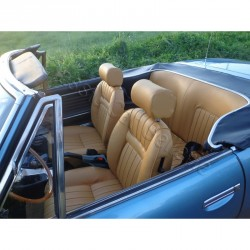 ensemble garnitures complet simili caramel phase2/3 Peugeot 504 cabriolet
