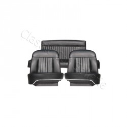 ensemble garnitures complet simili noir Peugeot 404 cabriolet