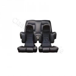 ensemble garnitures complet skaï noir Renault 17TS phase 2