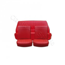 Ensemble garnitures de sièges complet rouge Renault Dauphine