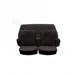 Ensemble garnitures de sièges complet noir Renault Dauphine