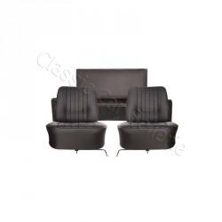 ensemble garnitures de sièges complet simili noir Renault floride