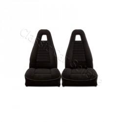 ensemble garnitures de sièges complet av/ar/tissu noir R5 ALPINE PHASE1