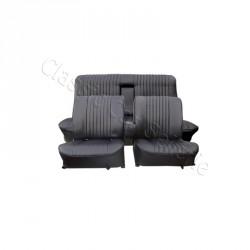 Ensemble garnitures de sièges complet av/ar simili noir R16 TS