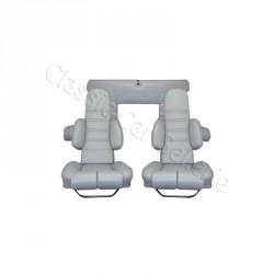 ensemble garnitures de sièges complet gris métal Alpine A310 v6