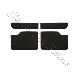 ensemble de 8 panneaux de portes simili noir Renault 8