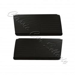 ensemble 2 panneaux de portes avant simili noir 304 coupé/cabriolet