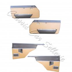 ensemble 4 panneaux de portes échange standard en simili caramel (camello)