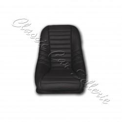 garniture de siège avant simili tressé noir simca 1000 rallye 1/2 année 72/76