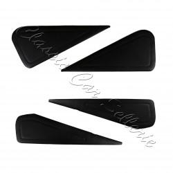 kit 4 panneaux simili noir pour portes alpine A110