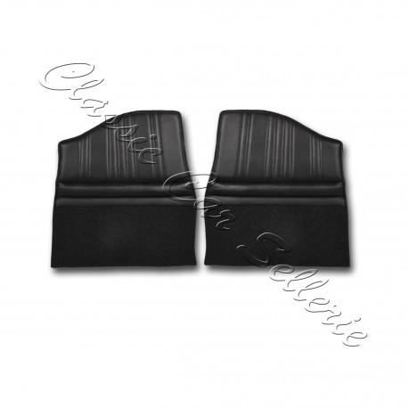 assises arrière complètes x2 simili noir alpine A110 1300/1600S