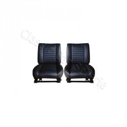 ensemble 2 garnitures de sièges avant simili noir rodéo 5
