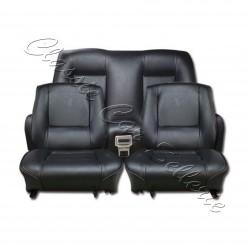Ensemble garnitures de sièges complet simili noir Renault 15TL