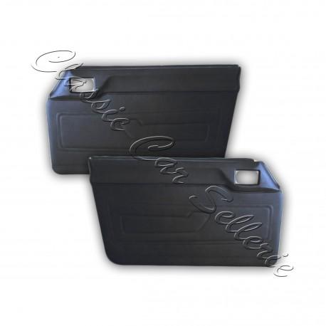 ensemble 2 panneaux de portes 504 pickup échange standard en simili noir