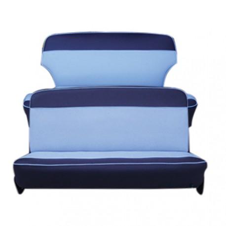 ensemble garnitures complet simili 2 tons bleu aronde P60