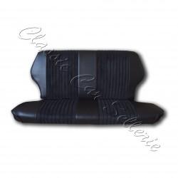 garnitures banquette arrière tissu côtelé noir /simili noir fiat 500 F/L/R
