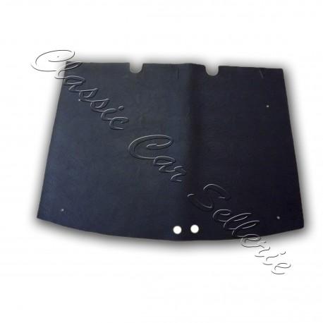 tapis de coffre enduction simili noir découpe d'origine peugeot 205