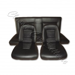 ensemble garnitures sièges complets av/ar simili noir MATRA 530 LX